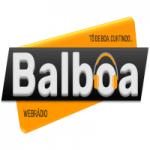 Logo da emissora Balboa Web Rádio