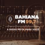 Logo da emissora Rádio Bahiana 99.7 FM