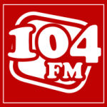 Logo da emissora Rádio Caxambu 104.9 FM