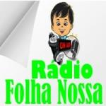 Logo da emissora Rádio Folha Nossa