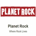 Logo da emissora Radio Planet Rock DAB