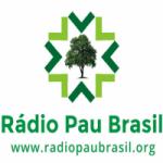 Logo da emissora Rádio Pau Brasil