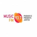Logo da emissora Radio Music 93.7 FM