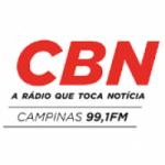 Logo da emissora Rádio CBN Campinas 99.1 FM 1390 AM