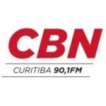 Logo da emissora Rádio CBN Curitiba 90.1 FM