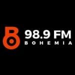 Logo da emissora Radio Bohemia 98.9 FM