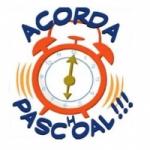 Logo da emissora Rádio Acorda Paschoal