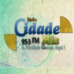 Logo da emissora Rádio Cidade Mix FM