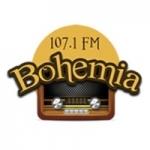 Logo da emissora Radio Bohemia 107.1 FM