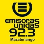 Logo da emissora Radio Emisoras Unidas 92.3 FM