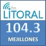 Logo da emissora Radio Litoral 104.3 FM