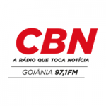 Logo da emissora Rádio CBN Goiânia 97.1 FM