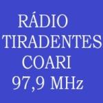 Logo da emissora Rádio Tiradentes Coari 97.9 FM
