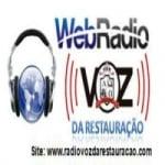 Logo da emissora Web Rádio Voz da Restauração