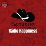Logo da emissora Rádio Happinesse-Canal Sertanejo
