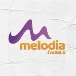 Logo da emissora Rádio Melodia 88.5 FM