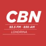 Logo da emissora Rádio CBN Londrina 830 AM 93.5 FM