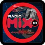 Logo da emissora Rádio Mix 18