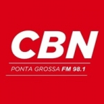 Logo da emissora Rádio CBN Ponta Grossa 98.1 FM