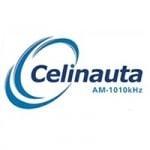 Logo da emissora Rádio Celinauta 1010 AM