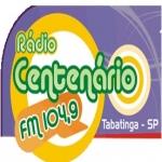 Logo da emissora Rádio Centenário 104.9 FM