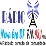 Logo da emissora Rádio Nova Era DF FM