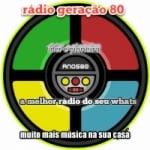 Logo da emissora Rádio Geração 80