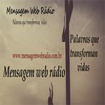 Logo da emissora Mensagem Web Rádio