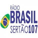 Logo da emissora Rádio Brasil Sertão 107