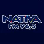 Logo da emissora Rádio Nativa FM 96.5