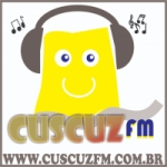 Logo da emissora Rádio Cuscuz FM