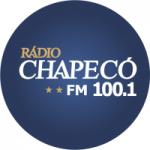 Logo da emissora Rádio Chapecó 100.1 FM