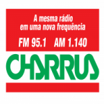 Logo da emissora Rádio Charrua 1140 AM 95.1 FM