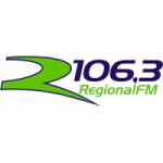 Logo da emissora Rádio Regional 106.3 FM