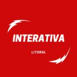 Logo da emissora Rádio Interativa Litoral