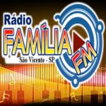 Logo da emissora Rádio Família FM Litoral