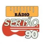 Logo da emissora Rádio Sertão 90