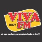 Logo da emissora Rádio Viva 106.7 FM