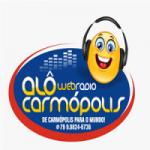 Logo da emissora Rádio Web Alô Carmópolis