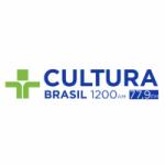 Logo da emissora Rádio Cultura Brasil 1200 AM 77.9 FM