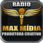 Logo da emissora Rádio Max Mídia