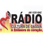 Logo da emissora Rádio Cultura 1520 AM