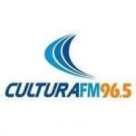 Logo da emissora Rádio Cultura 96.5 FM