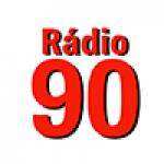 Logo da emissora Rádio Web 90
