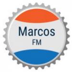 Logo da emissora Rádio Marcos FM