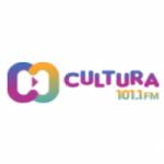 Logo da emissora Rádio Cultura 101.1 FM