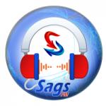 Logo da emissora Rádio Sags FM