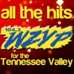 Logo da emissora WZYP 104.3 FM