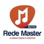 Logo da emissora Rádio Master 95.7 FM