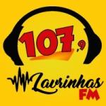Logo da emissora Rádio Lavrinha 107.9 FM